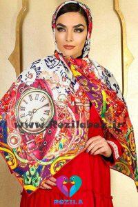 روسری نخی کد 137