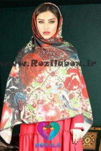 روسری نخی کد 154