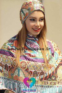 روسری نخی کد 158