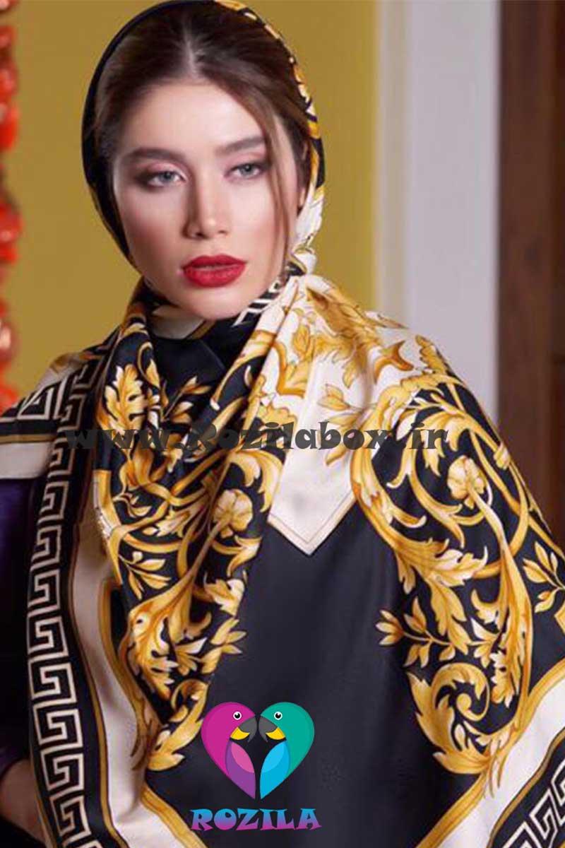 روسری نخی کد 159