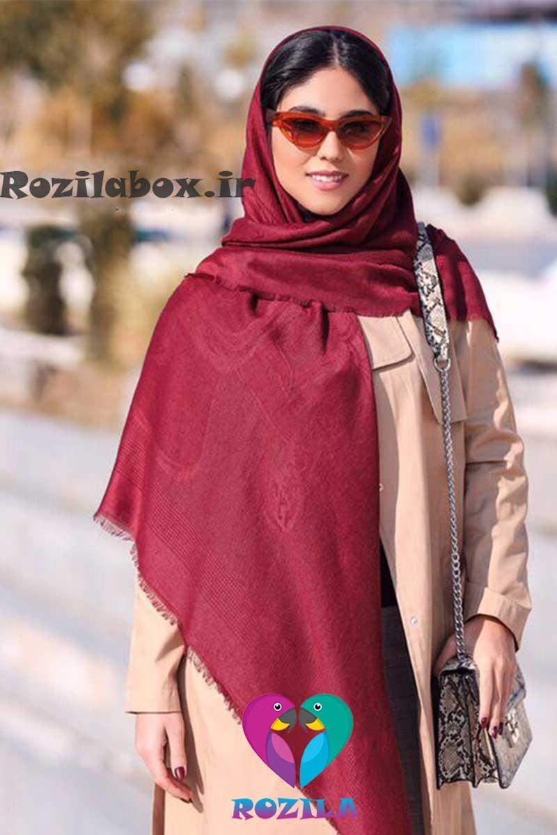 روسری نخی کد 163