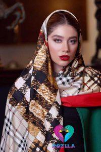 روسری نخی کد 177