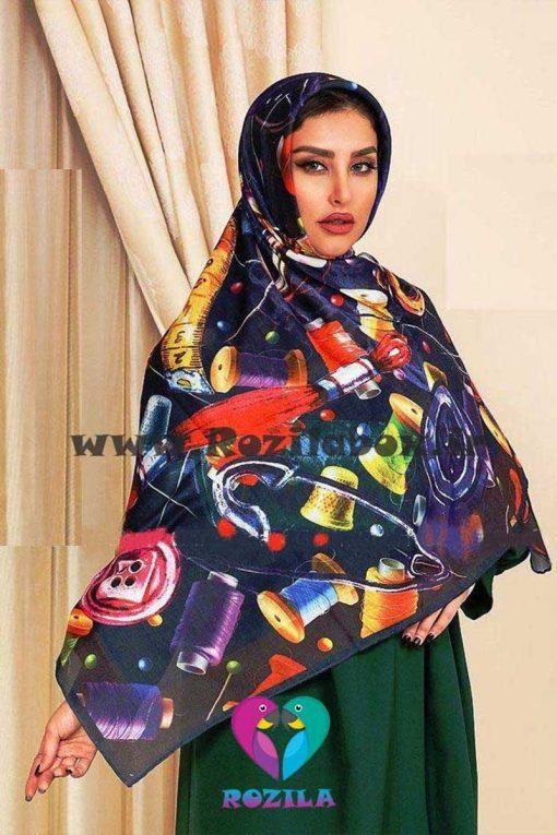 روسری نخی کد 112