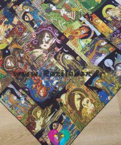 روسری نخی کد 126