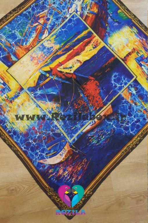 روسری نخی کد 129