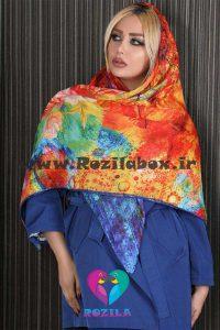 روسری نخی کد 145