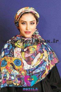 روسری نخی کد 132