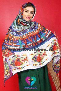 روسری نخی کد 133