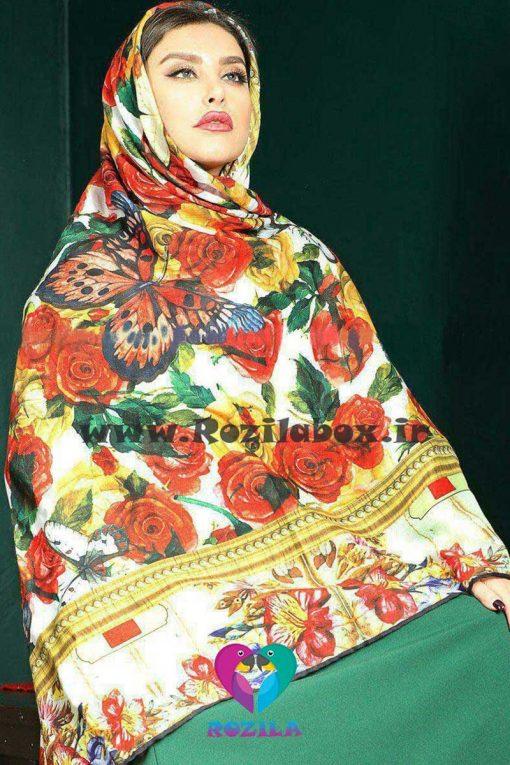 روسری نخی کد 135