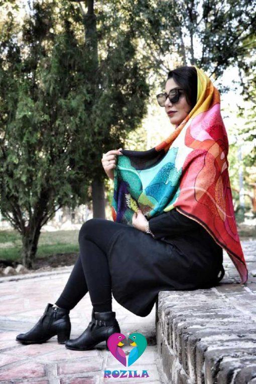 روسری نخی کد 241